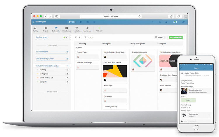 podio crm review efficiently customizable workplace hub dashboard