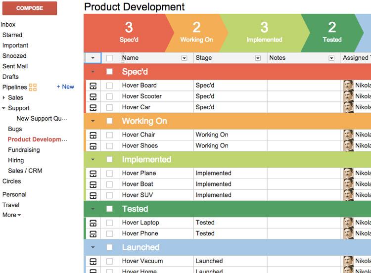 streak crm review best crm gmail users project management