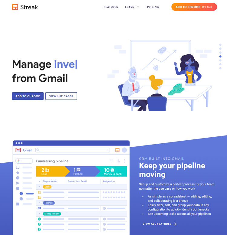 streak crm review best crm gmail users website