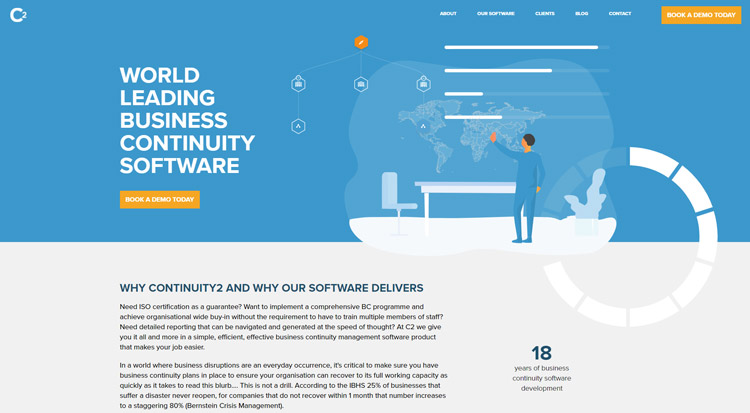 best business continuity planning management software continuity2