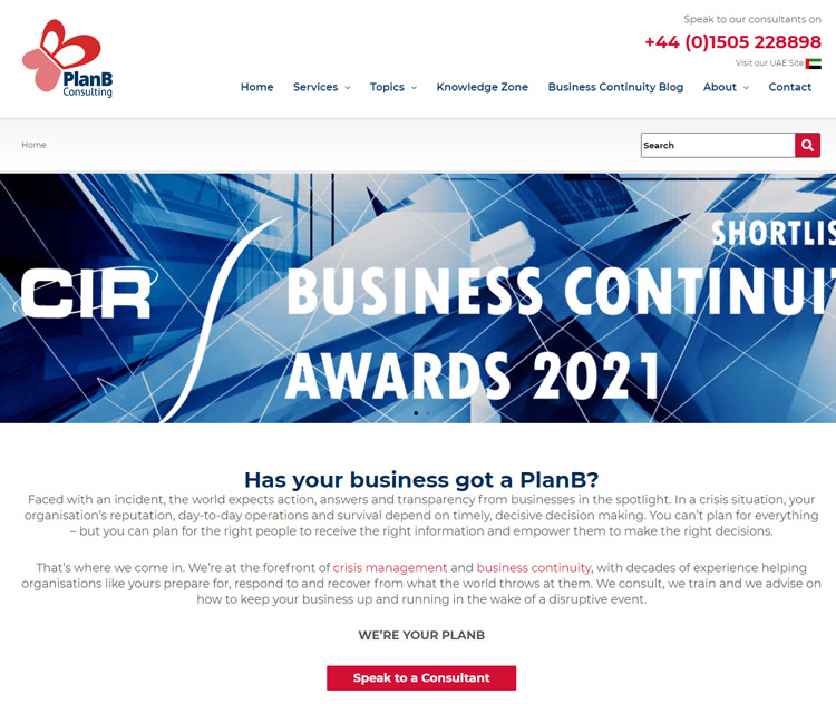 best business continuity planning management software planbconsulting