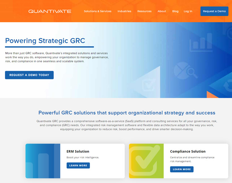 best business continuity planning management software quantivate website