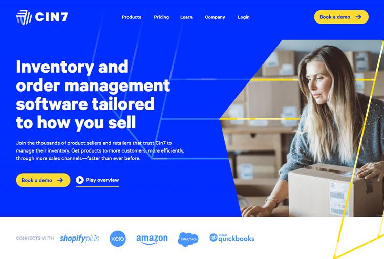 best inventory management software small business cin7