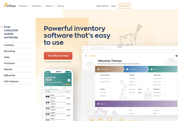 best inventory management software small business inflowinventory