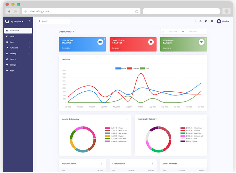 best open source accounting software for small businesses akaunting