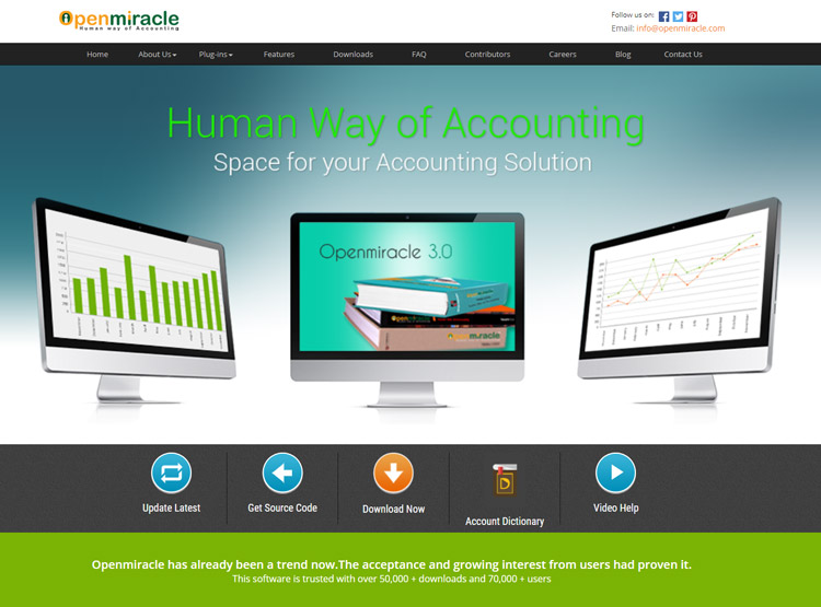 best open source accounting software for small businesses open miracle
