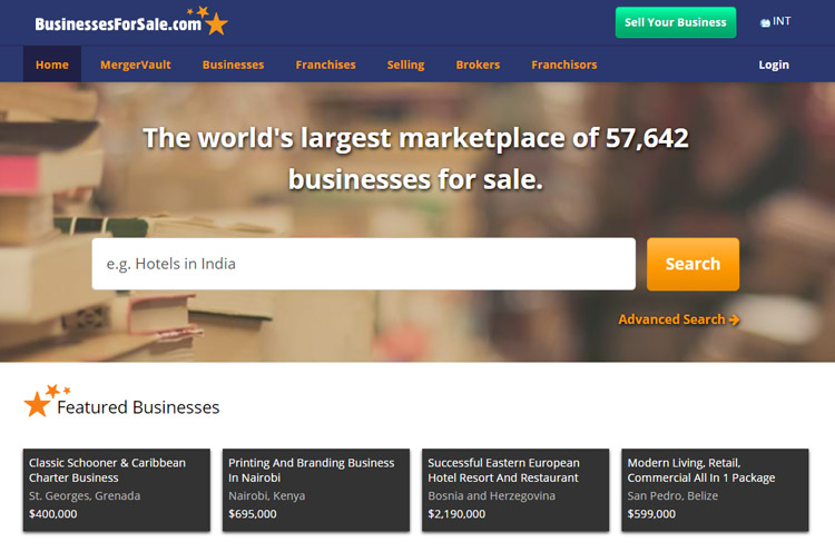 best places to look small business sale business for sale website