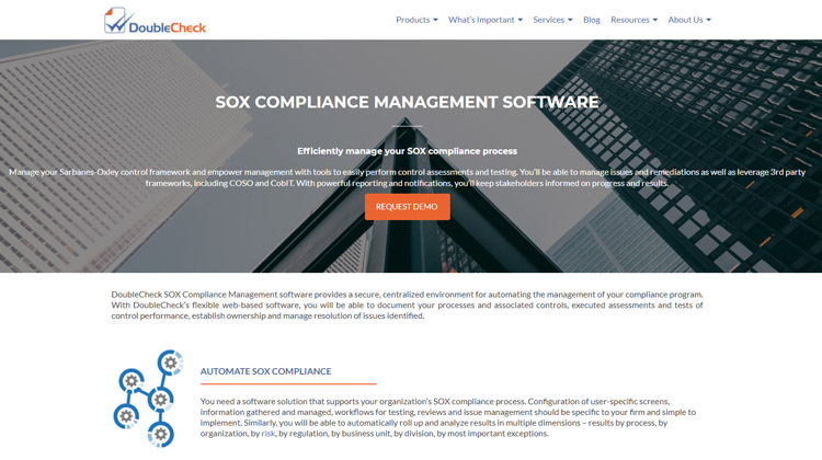 best sarbanes oxley sox compliance software audit double check