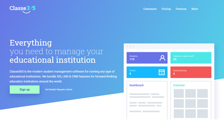 best school information management system sims software class 365