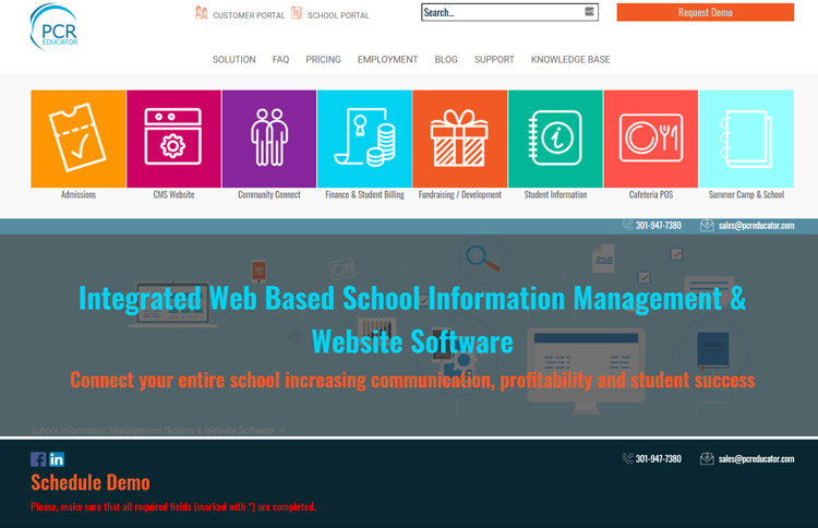 best school information management system sims software pcreducator