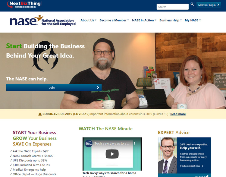 get support small businesses nase