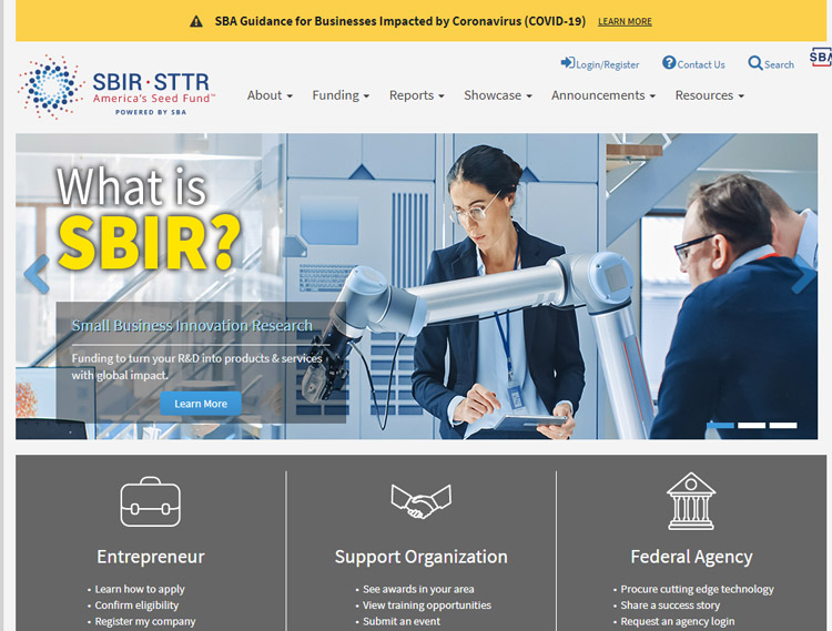 get support small businesses sbir