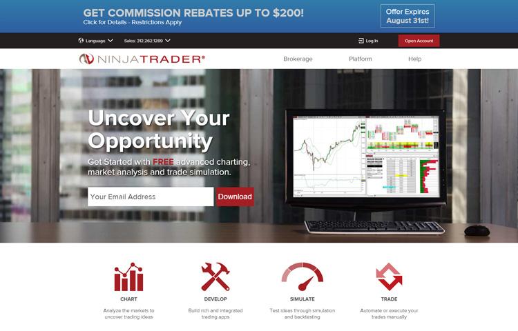 top best options analysis software ninja trader
